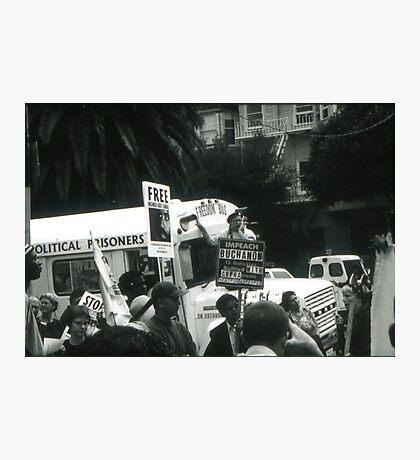 Freedom Bus Photographic Print