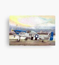 """""""Alden Rigby - Blue Nose Warrior"""" Canvas Print"""
