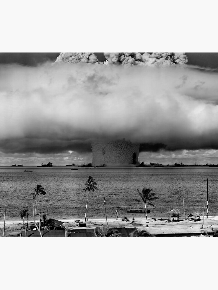 Atombombenpilz Cloud Operation Crossroads Baker Test von allhistory