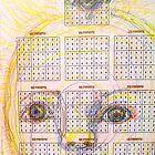 Solar Grid Face by MardiGCalero