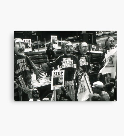 Stop the Execution Canvas Print