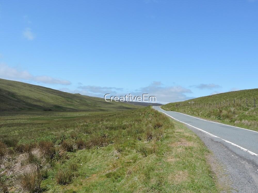 Welsh Valley by CreativeEm
