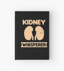 Dialysis Nurse Shirt | Kidney Whisperer Gift Hardcover Journal