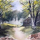 Forest walk by Ivor