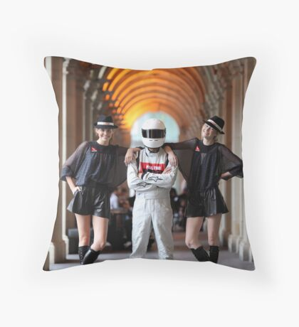 Grid Girls @ Melbourne GPO Throw Pillow