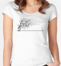 The Sound of Nature In Motion Women's Fitted Scoop T-Shirt