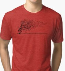 The Sound of Nature In Motion Tri-blend T-Shirt
