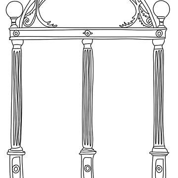 dibujo del arco de atenas de cgidesign2