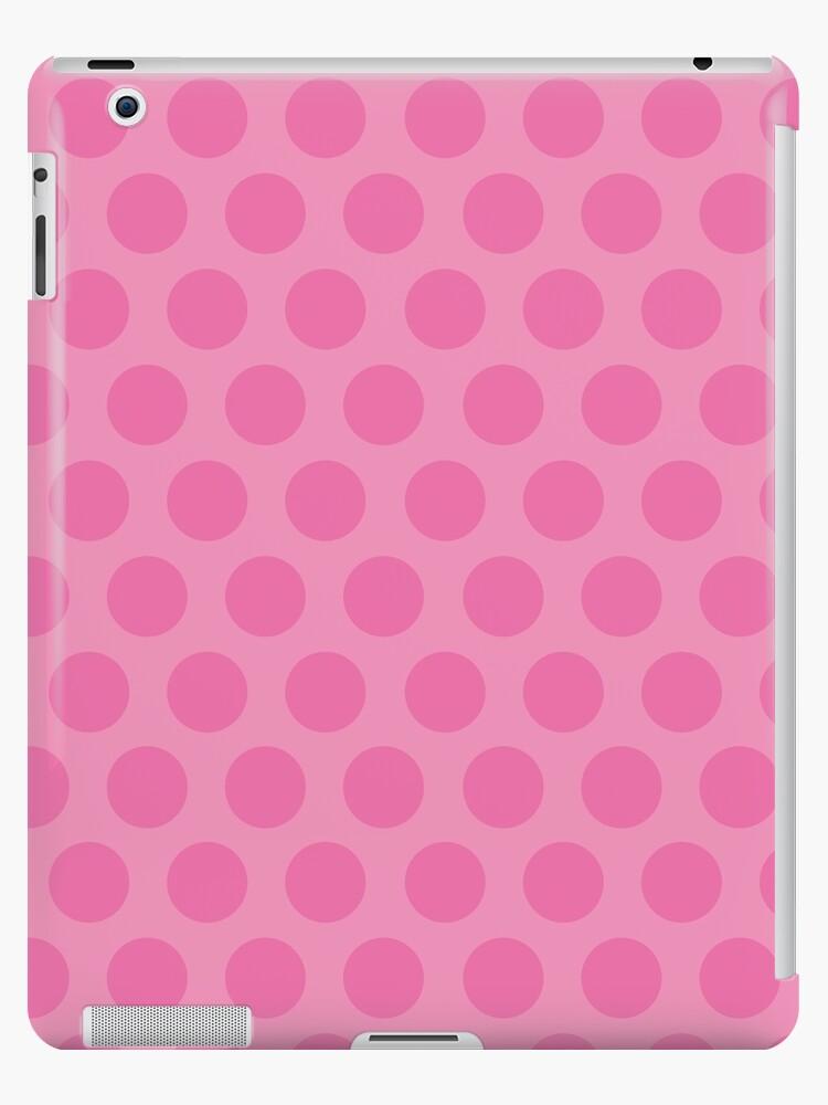 Pink Polka Dots by Louise Parton