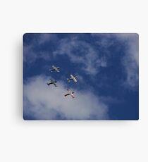 Alpha Jets Canvas Print