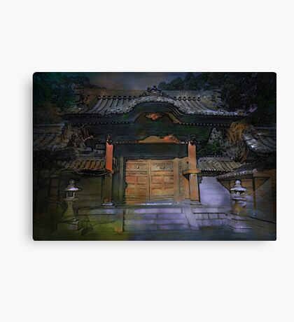 The gateway to ....... Canvas Print