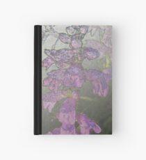 Penstemons with Morning Dew - Silver Haze Hardcover Journal