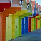 Beach Chalets by John (Mike)  Dobson