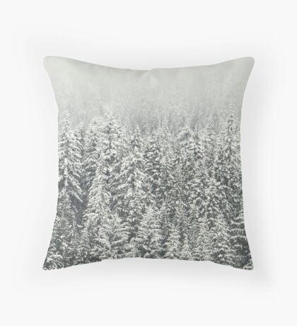Bosque nevado Cojín de suelo