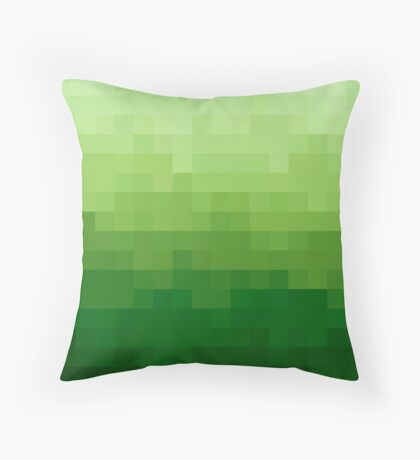 Gradient Pixel Green Cojín de suelo