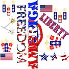 Independence Day Pattern by Gravityx9