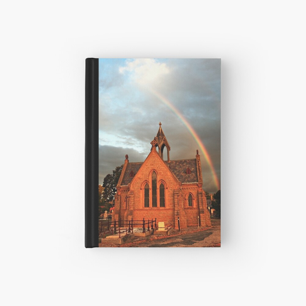 Bendigo Cemetery, Victoria, Australia Hardcover Journal