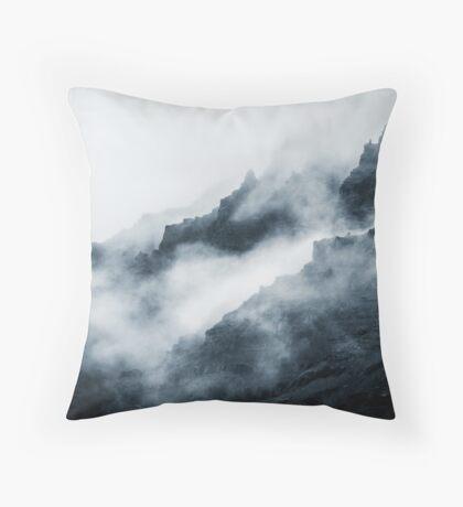 Montañas de niebla Cojín de suelo