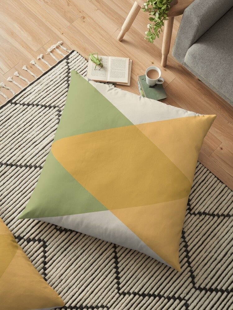 Mid Century - Yellow Green by La Chic
