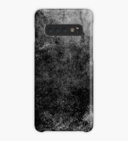 Grunge textura abstracta negro Funda/vinilo para Samsung Galaxy