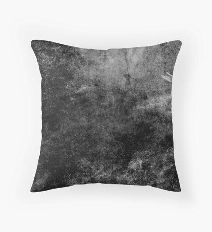 Grunge textura abstracta negro Cojín de suelo