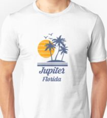 Jupiter Florida Shirt FL State Home City Tourist Travel Souvenir Beach Gift Slim Fit T-Shirt