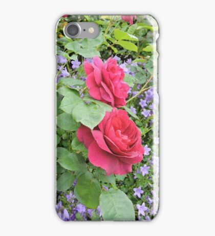 Fuschia Lilac Smile iPhone Case/Skin