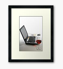 Home-office Framed Print