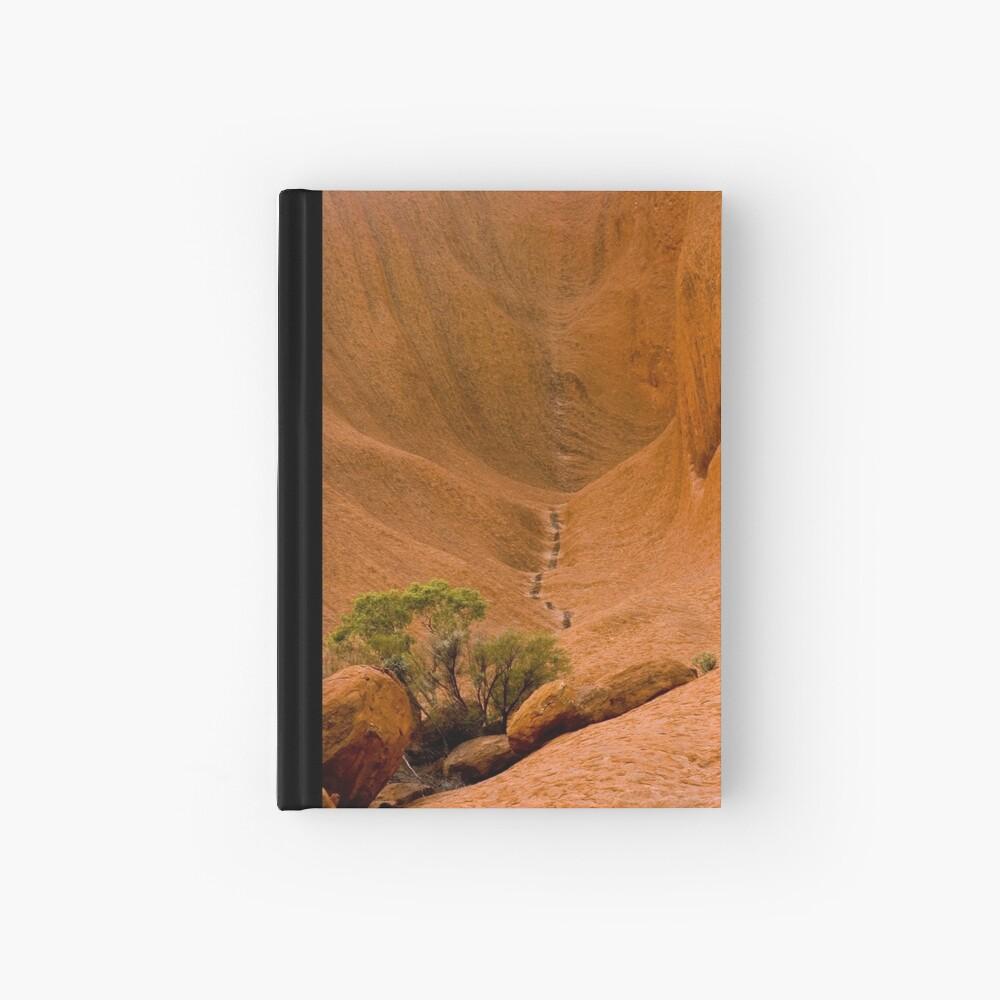 Uluru Rock Face Hardcover Journal
