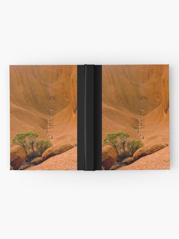 Alternate view of Uluru Rock Face Hardcover Journal