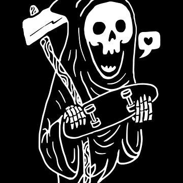 Grim Skater de quilimostock