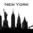 New York City Landmarks by Adam Regester