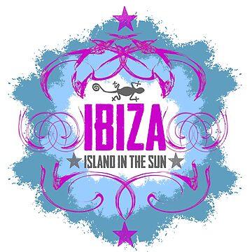 ibiza - island in the sun von Periartwork
