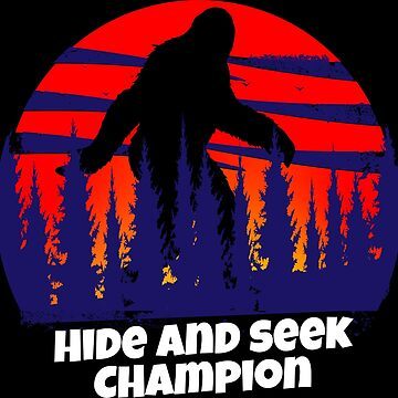 Hide and Seek Champion Yeti by emphatic