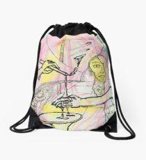 hot wax Drawstring Bag