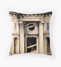 Convento de Cristo. Cloister stairs Throw Pillow