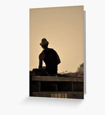 'Sittin On The Dock Of The Bay' Greeting Card