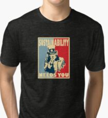 sustainability Tri-blend T-Shirt