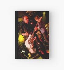 Smokin' Guitar Hardcover Journal