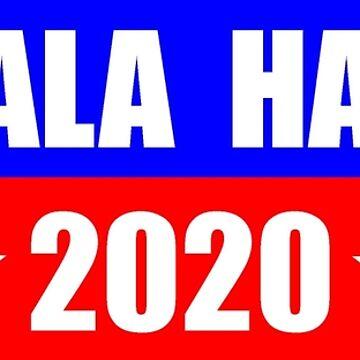 Kamala Harris for President 2020 Sticker Decal Shirt Mug by merkraht