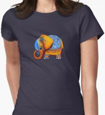 The Littlest Elephant TShirt Womens Fitted T-Shirt