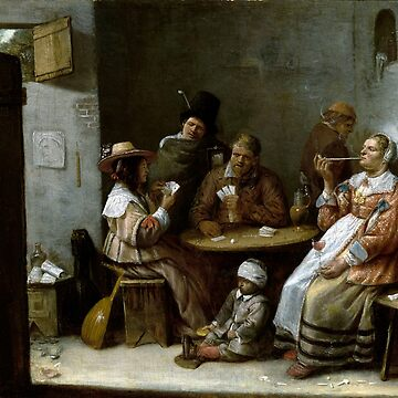 Josse van Craesbeeck Card Players by pdgraphics