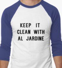 Keep it Clean with Al Jardine Men's Baseball ¾ T-Shirt