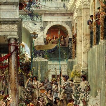 Lawrence Alma-Tadema Spring by pdgraphics