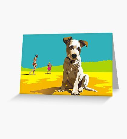 Daisy on Stradbroke Island Greeting Card