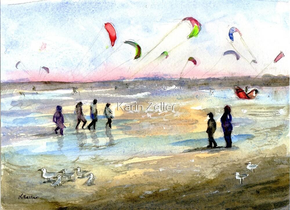 Windy day, Altona by Karin Zeller