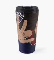 Flying or Falling? Travel Mug