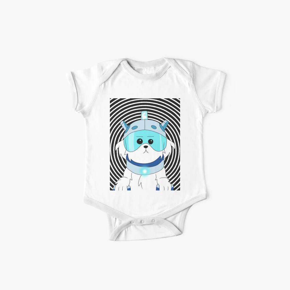 Lawnmower Dog - Rick and Morty Baby One-Piece