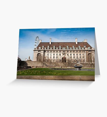 The Marriott Hotel: Westminster Bridge, London, UK. Greeting Card