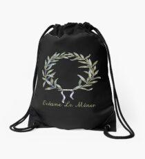 Crown - custom >> add your name! Drawstring Bag